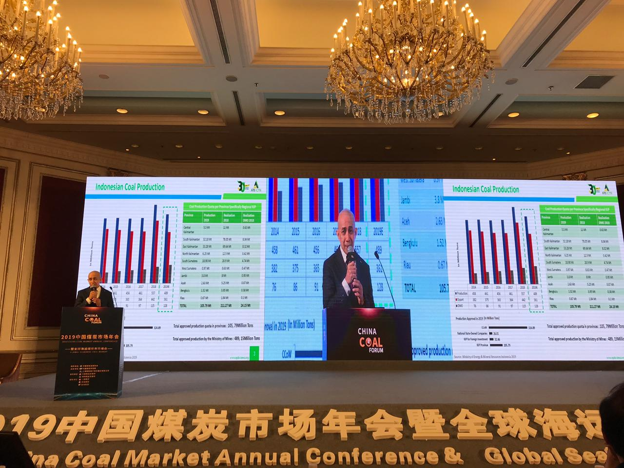 2019 Global Seaborne Coal Summit & China Annual Coal Market tanggal 11 April 2019
