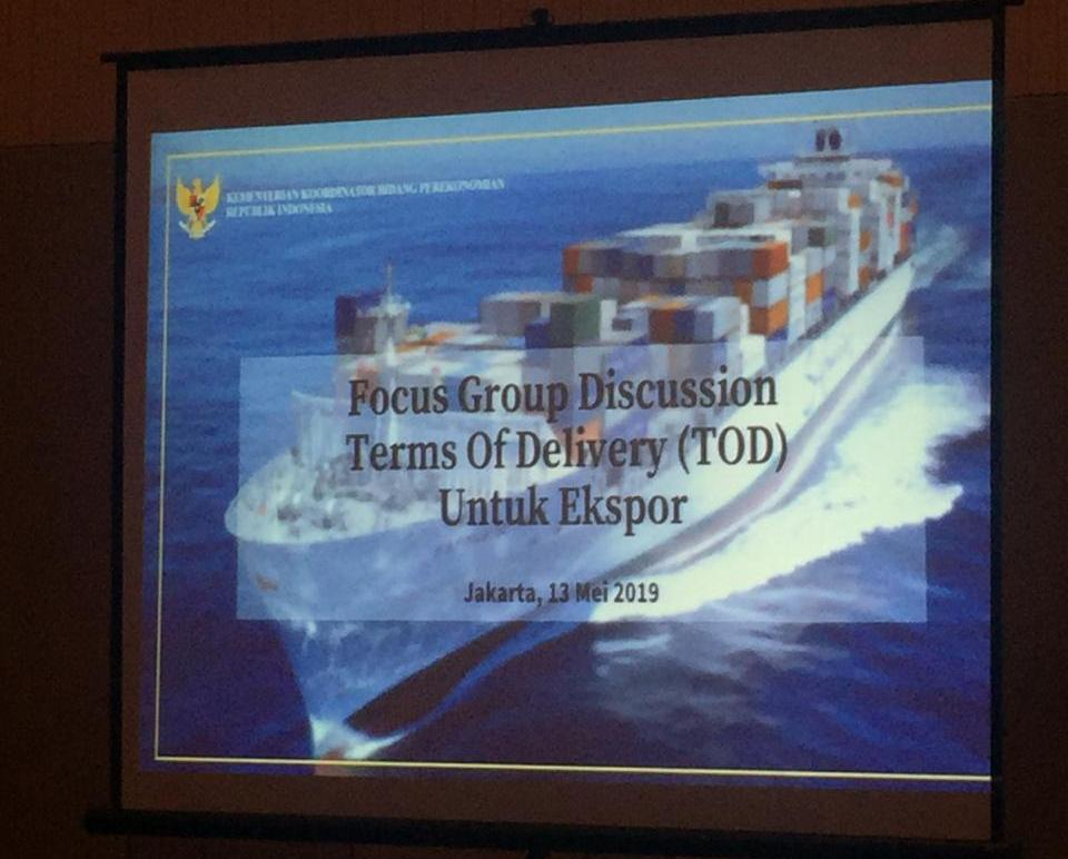 Pemetaan Term of Delivery (ToD) Ekspor Indonesia