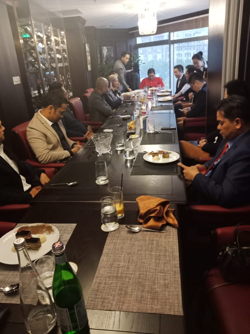 Pertemuan APBI, Kemendag dengan China Import Coal Trading Commission  10 April 2019 Shanghai, China