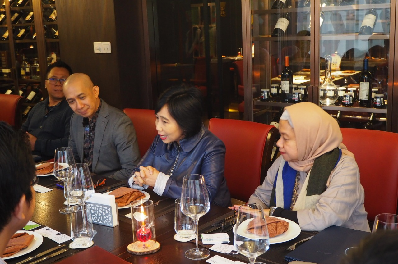 Pertemuan Delegasi RI dengan China National Coal Association, 10 April 2019