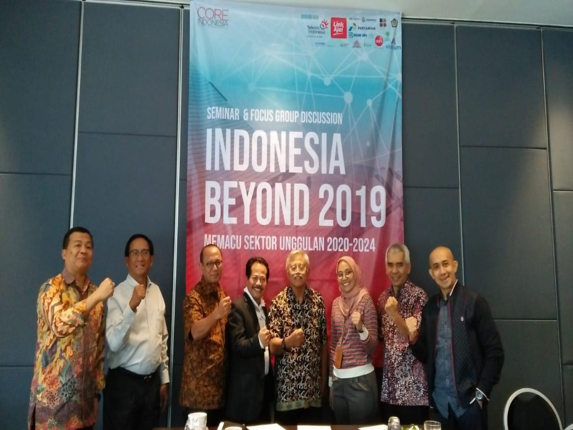 Focus Group Discussion  CORE (Center of Reform on Economics)  Indonesia  ( 7 Agustus 2019)