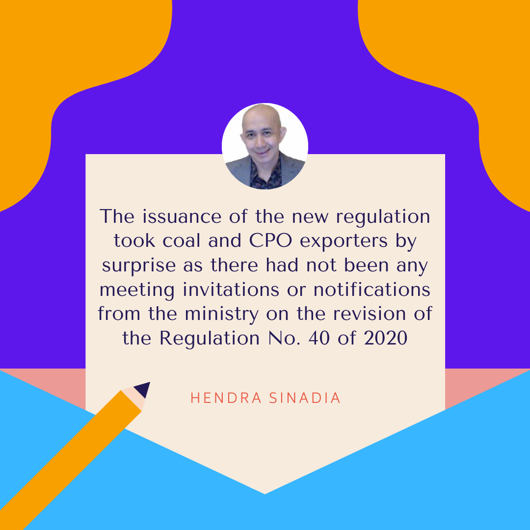 The New Shipping and Insurance Regulation Gives A Sight of Relief for Coal Exporter