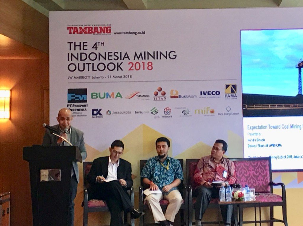 THE 4TH INDONESIA MINING OUTLOOK 2018